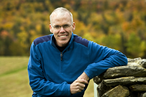 Photo of Bill McKibben, by Nancie Battaglia
