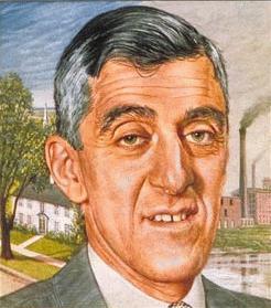 Leverett Saltonstall : Governor of Massachusetts