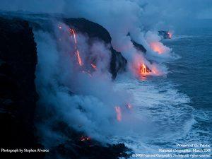lava ocean