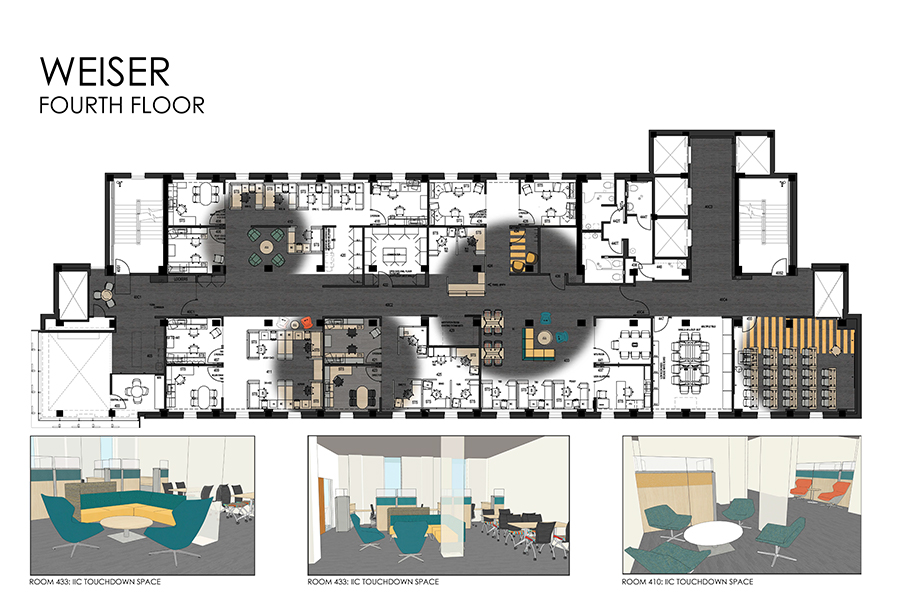 PDF Drawings With Floor Plans, Fabric Colors, And Furniture Selections For  Floors 2 9 In Weiser Hall Can Be Viewed By Visiting This Google Drive  Folder.