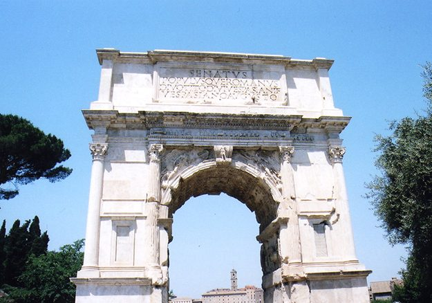 Arch of Titus in Rome_6