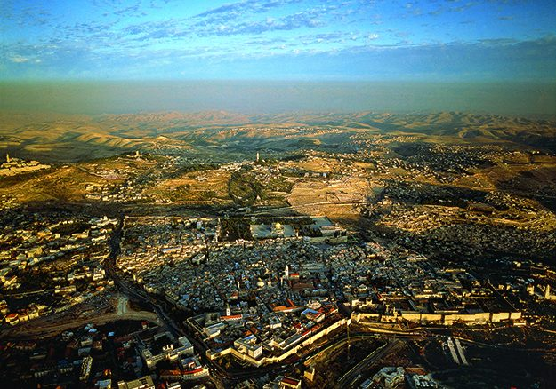 The old city of Jerusalem_1